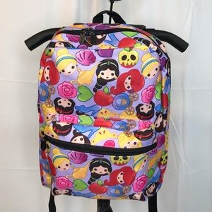 Adorable Disney Emoji Princess Backpack 🎒